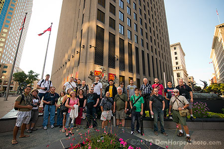 Winnipeg Photo Community august 2012 meeting